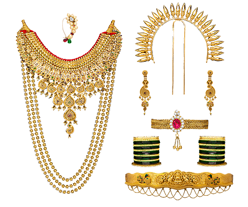 Traditional Maharashtrian Jewellery Traditional Gold Jewellery