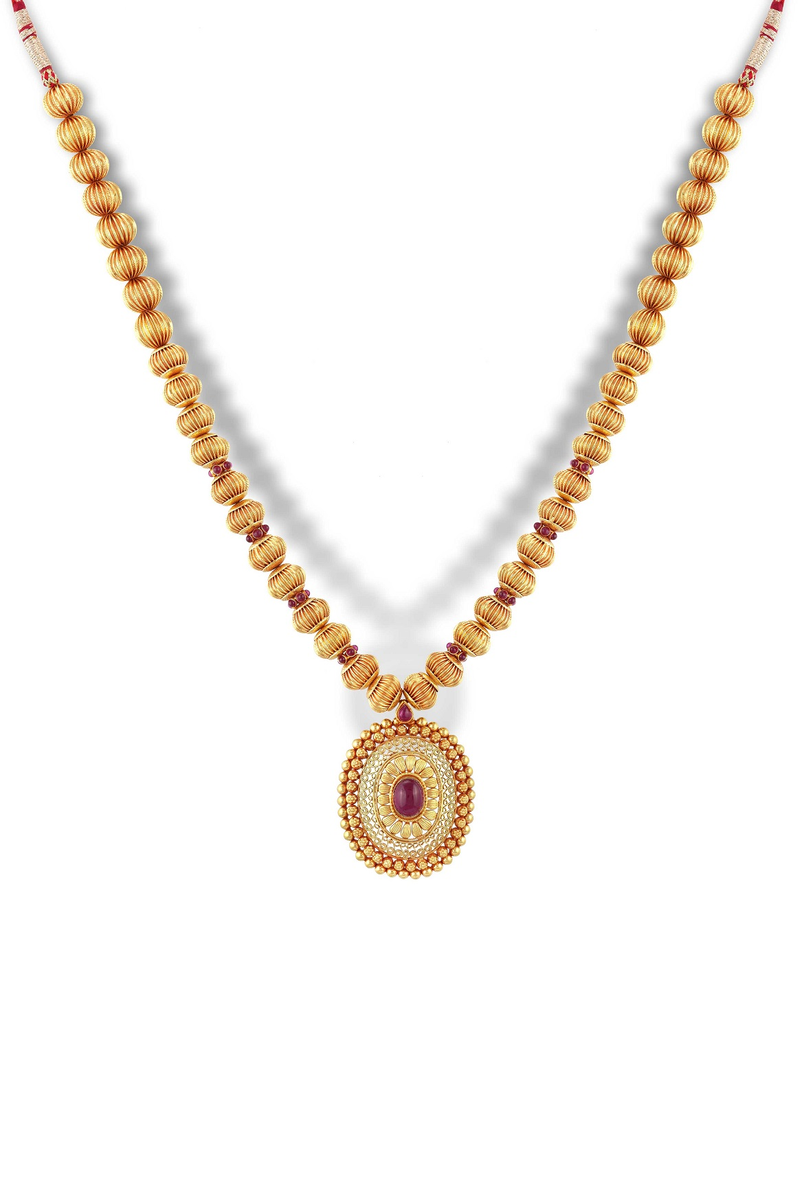 Gold Necklace Designs | Buy Gold Necklace Online - Chintamanis