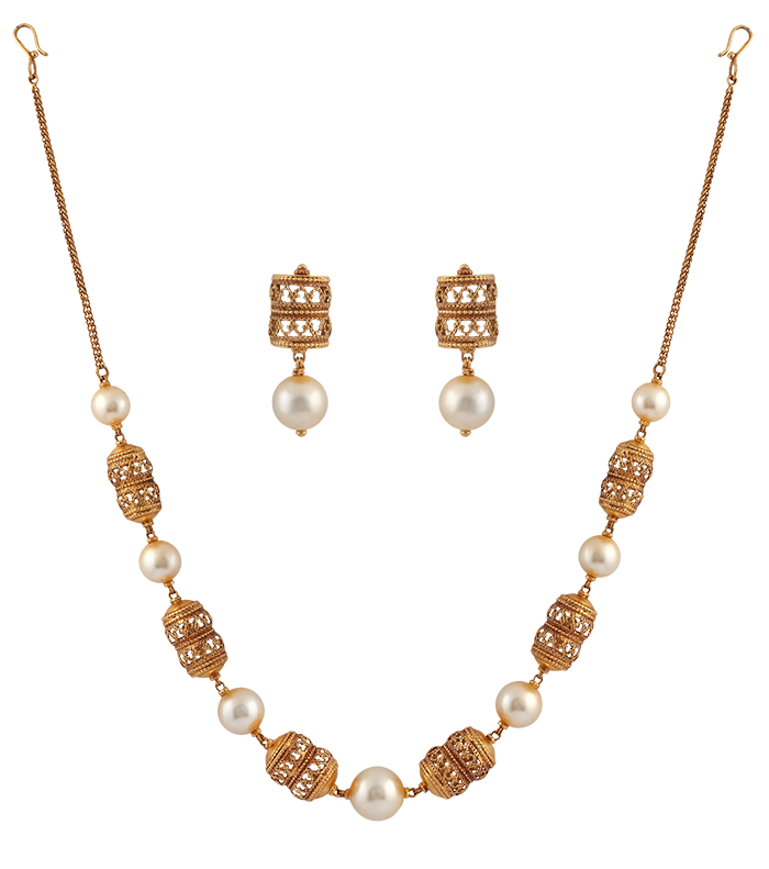 Gems & Pearls - Necklaces
